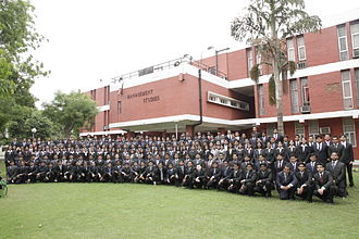 Faculty of Management Studies - University of Delhi - Photo shoot with the new batch of MBA students at FMS for the year 2014