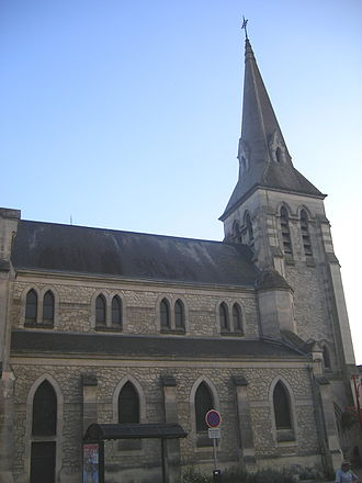 Anizy-le-Château - The Commune church