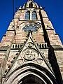Façade du porche et du clocher de l'église.jpg