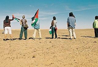 Moroccan Western Sahara Wall A separation barrier through West Sahara