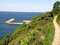 """Falochron przy Vang- widok ze """"ścieżki ratunkowej"""" - panoramio.jpg"""