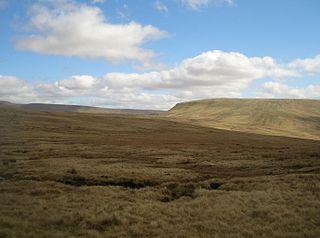 Fan Fawr mountain in the United Kingdom