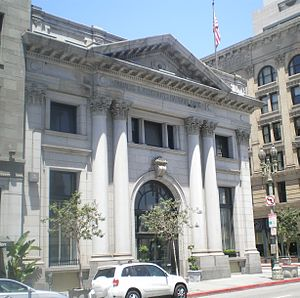 Main Street (Los Angeles) - Image: Farmers & Merchants Bank, Los Angeles