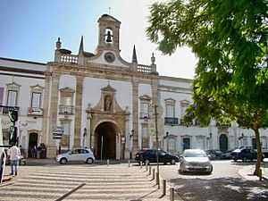 Faro, Portugal - The civil governor's palace in Faro