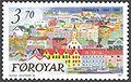 Faroe stamp 211 torshavn - bryggjubakki.jpg