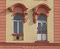 Faux balcony and atlantes, 10 Verseny street, 2018 Erzsébetváros.jpg