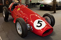 Ferrari 500 F1, prima Ferrari della storia a vincere il campionato di Formula Uno nel 1952