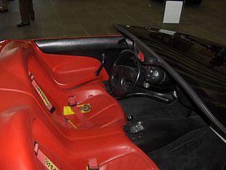 Ferrari Mythos - Image: Ferrari Mythos Inside