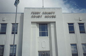 Ferry County, Washington - Image: Ferry County Courthouse
