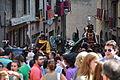 Festa Major de Solsona - pujada a la plaça.JPG