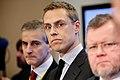Finlands utrikesminister Alexander Stubb tillsammans med de ovriga nordiska utrikesministrarna vid Nordiska radets session i Stockholm.jpg