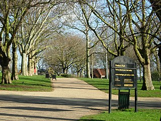 Finsbury Park Public park in the London Borough of Haringey, England