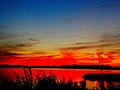 Fire Sunset over Lake Mendota - panoramio.jpg