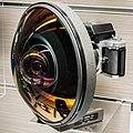 Fisheye-Nikkor Auto 6mm f2.8 lens 2015 Nikon Museum.jpg