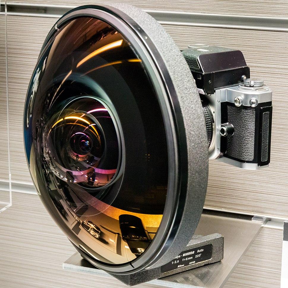 Fisheye-Nikkor Auto 6mm f2.8 lens 2015 Nikon Museum
