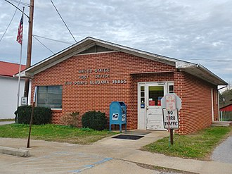 Five Points, Alabama - Image: Five Points Alabama Post Office