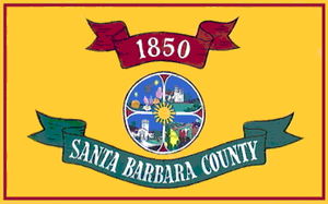 Santa Maria, California - Image: Flag of Santa Barbara County, California