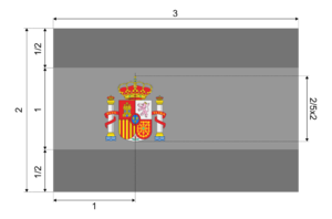 Flag of Spain (construction sheet).png