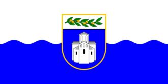 Zadar County - Image: Flag of Zadar County