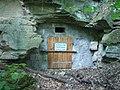 Fledermausschutz am Felsenkeller in Westheim.JPG