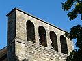 Fleurac église clocher-mur.JPG