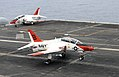 Flickr - Official U.S. Navy Imagery - A T-45C Goshawk training aircraft makes an arrested landing.jpg