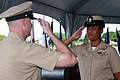 Flickr - Official U.S. Navy Imagery - A new chief salutes her mentor..jpg