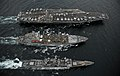 Flickr - Official U.S. Navy Imagery - USS Abraham Lincoln, USS Cape St. George and USNS Guadalupe.jpg