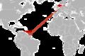 Flight Surinam Airways 764 route.png