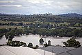 Flood waters on the Murrumbidgee flood plains in North Wagga, looking towards Cartwrights Hill from Estella (1).jpg