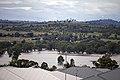 Flood waters on the Murrumbidgee flood plains in North Wagga, looking towards Cartwrights Hill from Estella (1).jpg