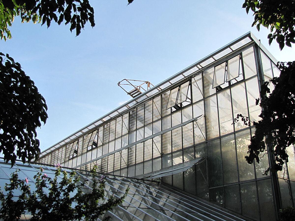 Flora Köln Gewächshaus