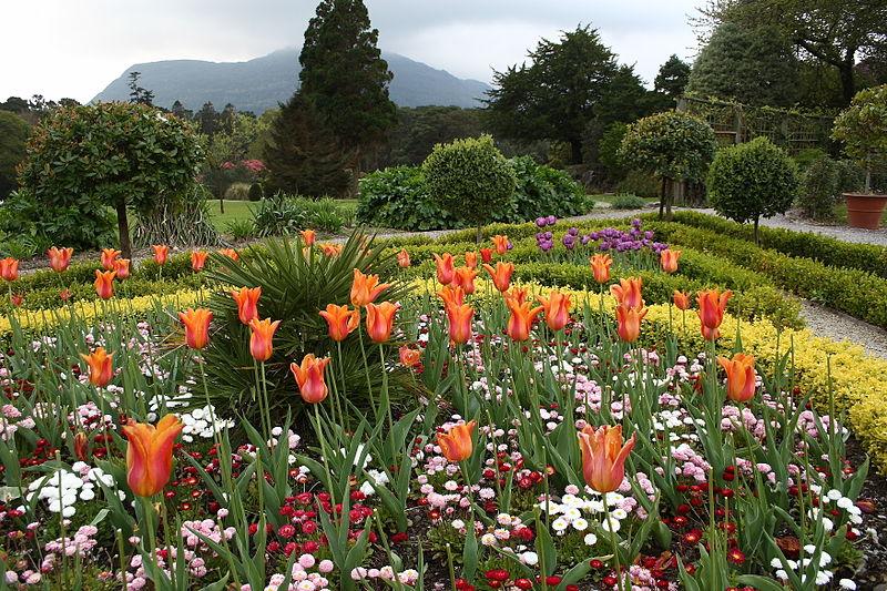 File:Flower Garden at Muckross House.jpg