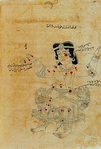 Folio 165 from manuscript of as-Sufi treatese on the fixed stars. 1009-10. Bodleian Library, Oxford..jpg