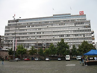 Norwegian Labour Movement Archives and Library - The People's House, where Arbark is located on the fifth floor.