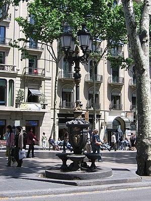 Font de Canaletes - Font de Canaletes