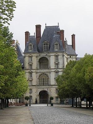 Gilles Le Breton - Le Breton's Porte Dorée at Fontainebleau (1528–1540)