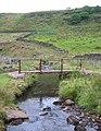Footbridge over Black Brook - geograph.org.uk - 215756.jpg