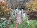 Footbridge over the Rea Brook - geograph.org.uk - 602365.jpg