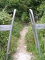 Footpath - Naburn Approach, Whinmoor - geograph.org.uk - 894862.jpg