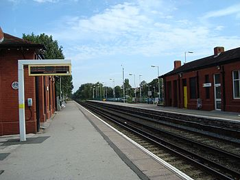 Formby Station ...