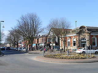 Formby Town in England