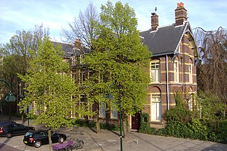 Martinus Beijerinck - The Laboratory of Microbiology in Delft, where Beijerinck worked from 1897 to 1921.