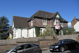 Monmouth Hospital - Image: Former Monmouth Cottage Hospital Hereford Road