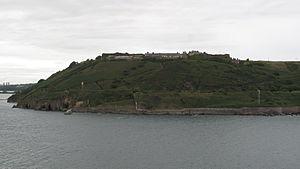 Fort Davis, County Cork - Fort Davis viewed from Cork Harbour