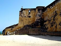Fort Jesus, a UNESCO World Heritage Site in Mombasa.