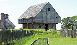 Fort King George front, McIntosh County, GA, US.jpg