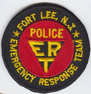 Fort Lee Police ERT Patch