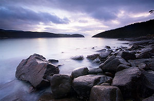 Tasman National Park - Sunrise at Fortescue Bay