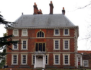 Forty Hall - Eastern aspect